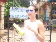 Malaika Arora flaunts her perfect midriff in her all-white gym avatar