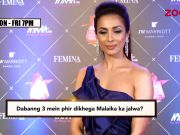Malaika Arora hints at doing an item song in 'Dabangg 3'