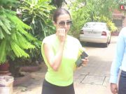 Malaika Arora looks fit as a fiddle as she gets papped post workout