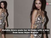 Malaika Arora seals her birthday with a kiss from beau Arjun Kapoor; Sapna Choudhary booked for fraud in Surat, and more…