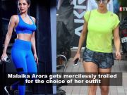Malaika Arora trolled for her 'fashion sense'