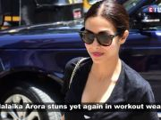 Malaika Arora's all black gym looks is taking the internet by storm