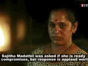 Malayali actress Sajitha Madathil was asked if she'll 'adjust and compromise' for role in movie, her response is epic