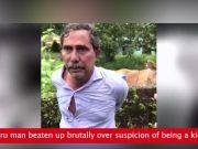 Mangaluru man beaten up brutally over suspicion of being a kidnapper