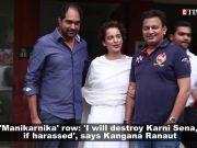 'Manikarnika' row: Kangana Ranaut warns Karni Sena, says she will destroy them