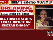 #MeToo: Author Ira Trivedi issues legal  notice to Chetan Bhagat