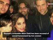 #MeToo movement: Exceed Entertainment's co-founder Afsar Zaidi accused of sexual harassment