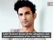 #MeToo movement: Kizie Aur Manny actress Sanjana Sanghi denies allegations against Sushant Singh Rajput