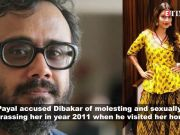 #MeToo movement: Payal Rohatgi accuses Dibakar Banerjee of molestation and sexual harassment