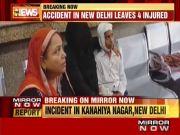 Milk tanker rams into school van in Delhi, injures students