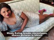 Mindy Kaling's inspirational post says 'wear a bikini if you want to'