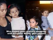 Mira Rajput goes grocery shopping with daughter Misha, gets papped