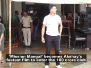 'Mission Mangal' crosses Rs 100 crore, becomes Akshay Kumar's fastest movie to enter the club