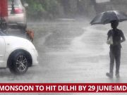 Monsoon is expected to hit the national capital soon