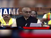 Motion of no confidence: TDP attacks PM Narendra Modi over AP special status demand