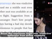 Mouni Roy gets angry over airline employee's rude behavior