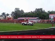 MP CM Shivraj Singh Chouhan at Independence Day Parade Motilal Nehru Stadium, Bhopal