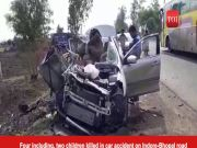 MP: Four killed in car accident on Indore-Bhopal road
