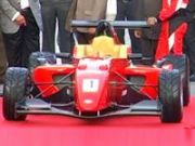 MRF Formula 2000 Racing Car Launch