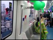 Much-awaited six-coach Namma Metro train inaugurated in Bengaluru