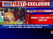 Mukul Roy's son likely to join BJP