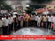 Mumbai braces for milk shortage as farmers dump produce on road
