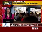 Mumbai: RPF holds mock drills at overcrowded bridges to prepare for monsoon