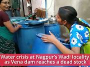 Nagpur: Water crisis for Wadi residents, water tanker sent to locality after 15 days