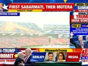 Namaste Trump: Ground report from  Motera Stadium, Ahmedabad