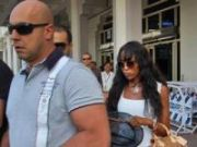 Naomi Campbell arrives in India to celebrate boyfriend___s birthday
