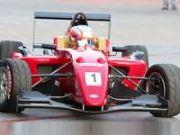 Narain drove MRF F2000 car around EA Mall