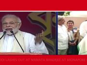 Narendra Modi in Bengal: PM lashes out at Mamata govt, says 'even offering puja has become difficult in state'