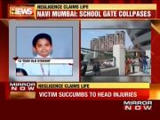 Navi Mumbai: 12-year-old boy dies after school gate collapses on him