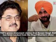 Navjot Singh Sidhu sacked from 'The Kapil Sharma Show' over his 'unsavoury comments' on Pulwama terror attack: IFTDA pledges not to work with him