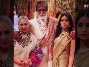 Navya Naveli Nanda looks mesmerising in Grandmother Jaya Bachchan's saree