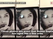 Neena Gupta compares her picture from 1984 to present year, netizens wonder if she aged at all