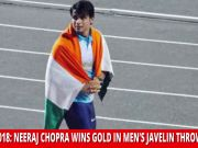 Neeraj Chopra: 20-year-old strikes gold in javelin in Asiad 2018
