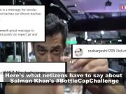 Netizens troll Salman Khan over his #BottleCapChallenge, question his religious beliefs