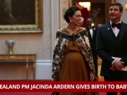 New Zealand PM Jacinda Ardern gives birth to a baby girl