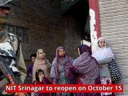 NIT Srinagar to reopen today