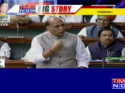 No question of mediation on Kashmir, says Rajnath Singh in Lok Sabha
