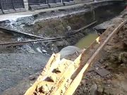 Old tram tracks unearthed in Mumbai