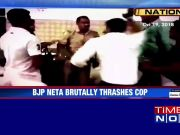 On cam: BJP councillor thrashes cop in Meerut's restaurant