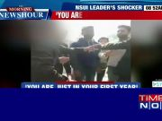 On cam: NSUI leader threatens first year girl student in UP's Shahjahanpur