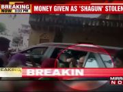 On camera: Rajasthan CM Raje's security guard steals money
