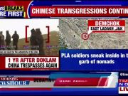One year after Doklam, China intrudes into East Ladakh