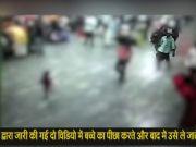 चेन्नै सेंट्रल रेलवे स्टेशन पर तीन साल के बच्चे कि किडनैपिंग हुई कैमरे में कैद