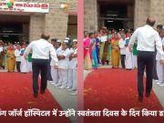 हैदराबाद: यह डॉक्टर आपको भी डांस करने के लिये कर देगा मजबूर