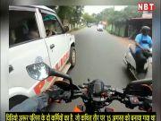 केरल: बिना सीट बेल्ट पुलिस वैन चलाते दो पुलिसकर्मियों का विडियो वायरल, हुआ ट्रांस्फर