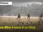 'लाठी के घोड़े' पर सवार हो दौड़ गई यूपी पुलिस